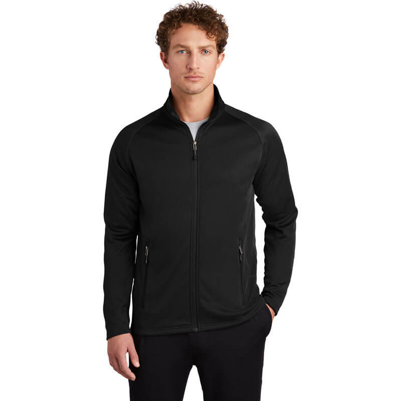 Eddie Bauer Men's Smooth Fleece Base Layer Full-Zip