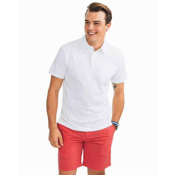 Southern Tide M SS Island Road Jersey Polo
