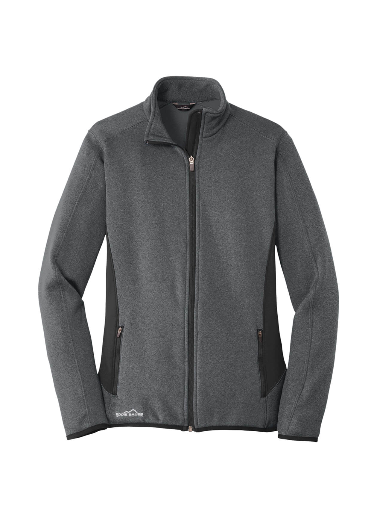Eddie Bauer Women's Full-Zip Heather Stretch Fleece Jacket
