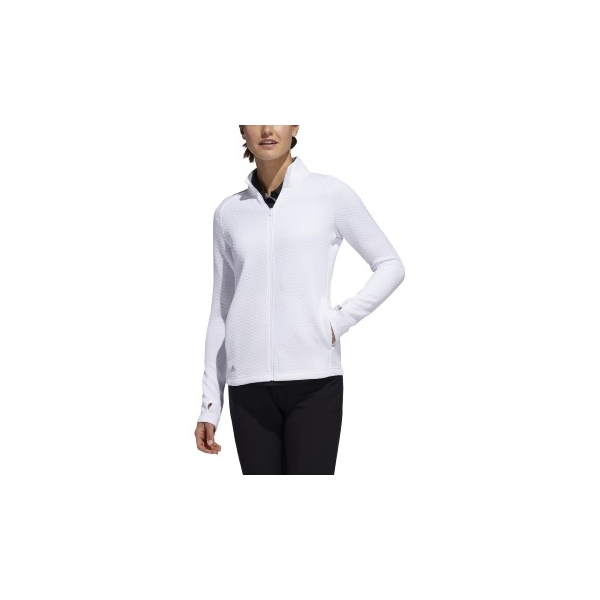 Adidas Women's Essentials Textured Full Zip