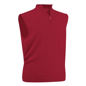 Men's Glenbrae Merino Zip Neck Slipover Sweater