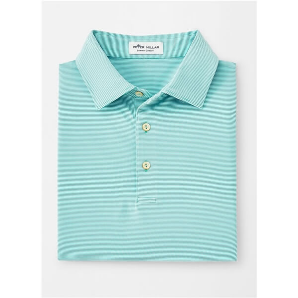 Peter Millar Men's Jubilee Stripe Self Collar Polo