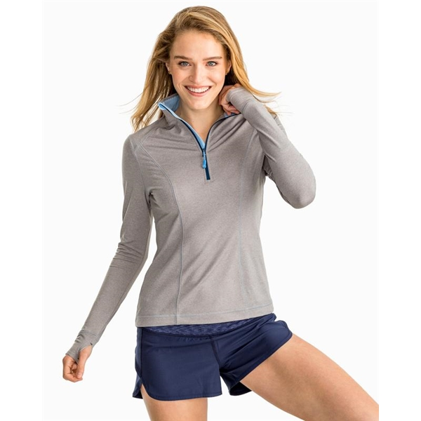 Southern Tide Women's Skipjack Athletic 1/4 Zip -5341