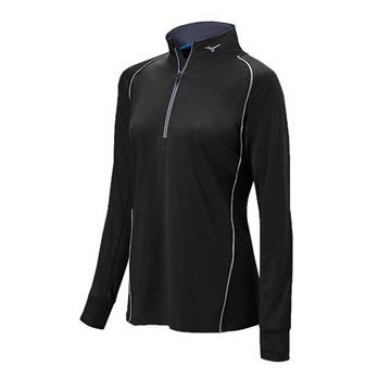 Mizuno Youth Compression 1/2 Zip Hitting Top