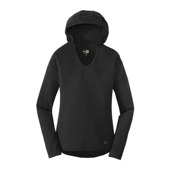 New Era ® Ladies Tri-Blend Performance Pullover Hoodie Tee