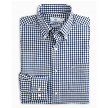 Southern Tide M LS Gingham IC Sportshirt