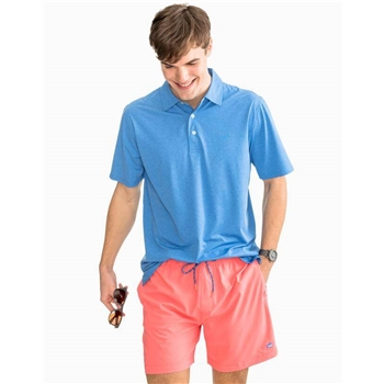 Southern Tide M SS Driver Performance Polo