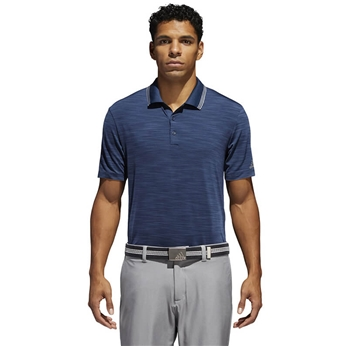 Men's adidas Ultimate Textured Stripe Polo