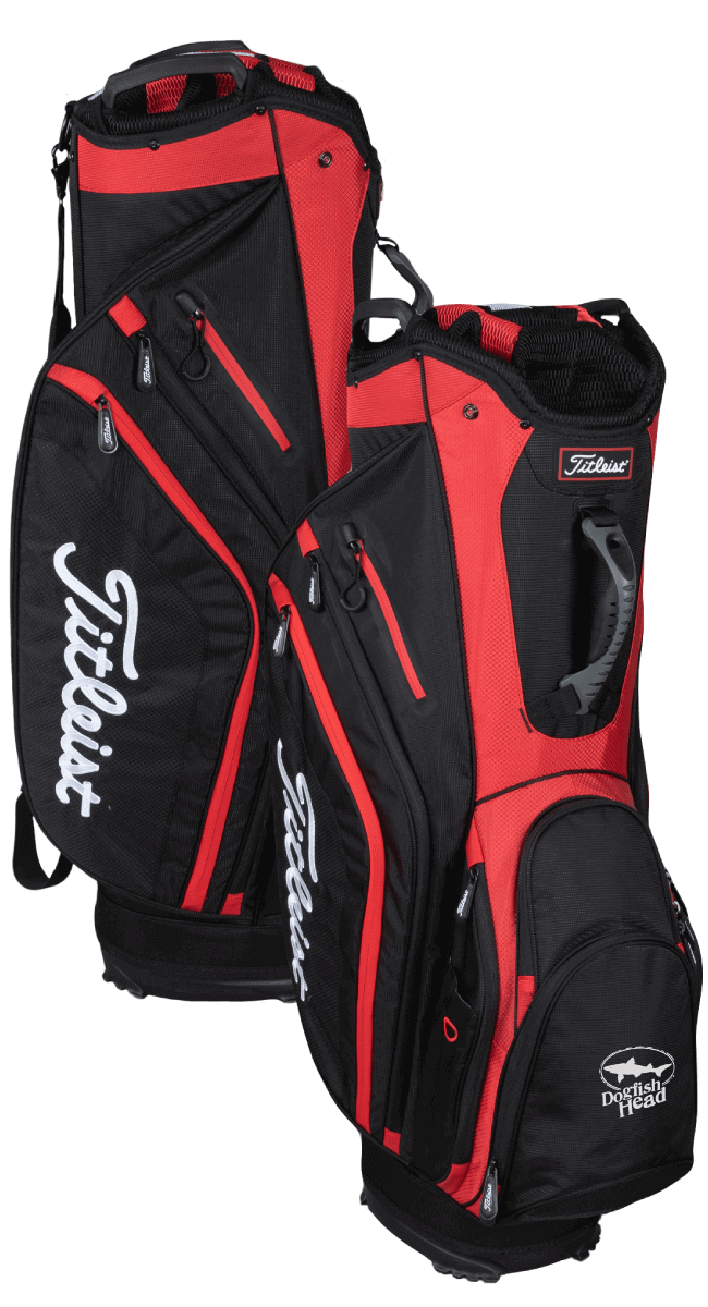 CUSTOM TITLEIST CART BAG