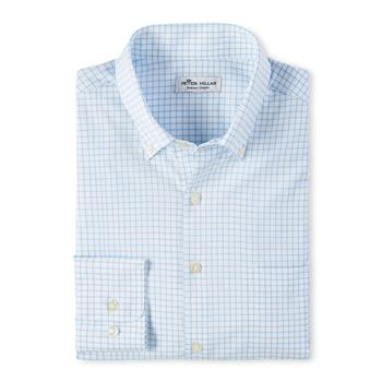 Peter Millar Men's Captain Performance Sport Shirt