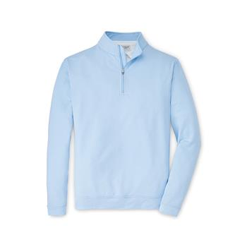 Peter Millar Men's Perth Sugar Stripe 1/4 Zip
