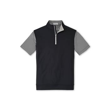 Peter Millar Men's Galway Performance 1/4 Zip Vest