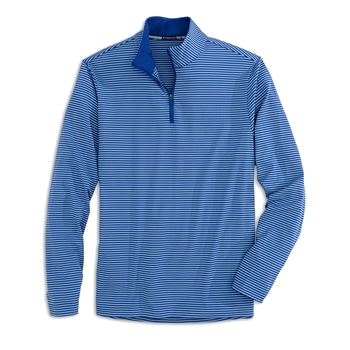 Southern Tide Men's Striped Performance 1/4 Zip