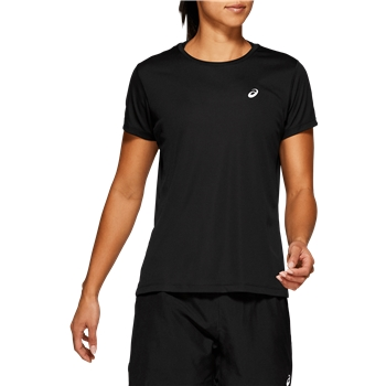 ASICS Women's Silver Short Sleeve T Shirt