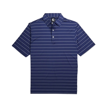 Foot Joy Men's Lisle Double Stripe Polo