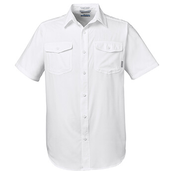 Columbia Men's Utilizer II Solid Performance Short-Sleeve Shirt