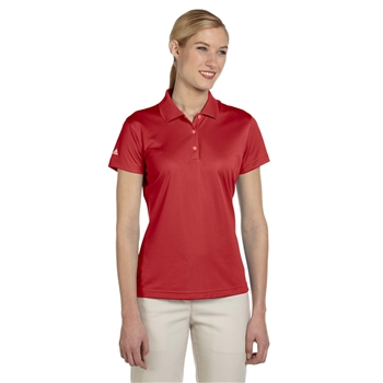adidas Golf Women's climalite Basic Short-Sleeve Polo