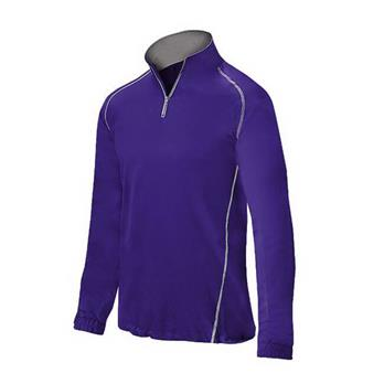 Mizuno Men's Compression 1/2 Zip Batting Jacket