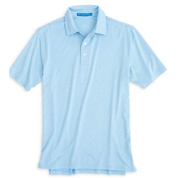 Southern Tide Men's Gameday Performance Stripe Polo