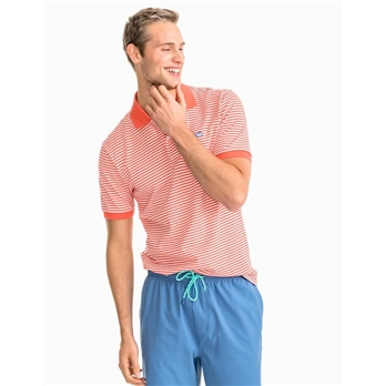 Southern Tide Men's SS Skipjack Striped Polo