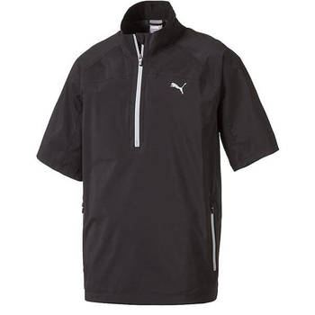 PUMA Men's Short Sleeve Rain Golf Popover