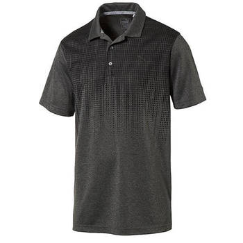 PUMA Men's Jacquard Drip Golf Polo