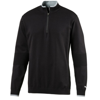 PUMA Men's Evoknit 1/4-Zip Sweater