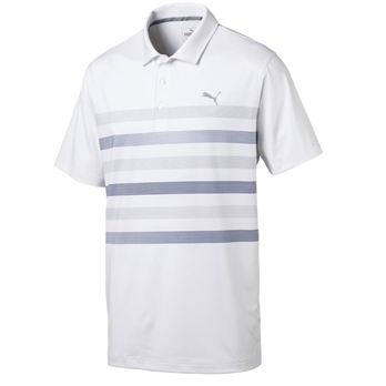 PUMA Men's Center Stripes Polo