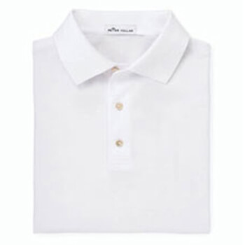 Men's Peter Millar Solid Cotton Polo