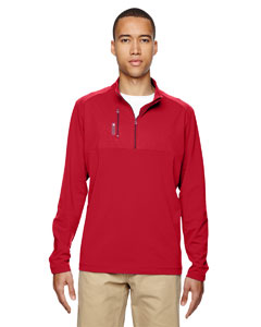 adidas Golf Men's puremotion Mixed Media Quarter-Zip