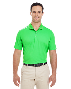 adidas Golf Men's 3-Stripes Shoulder Polo