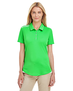 adidas Golf Women's 3-Stripes Shoulder Polo