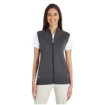 adidas Golf Women's Quarter-Zip Club Vest