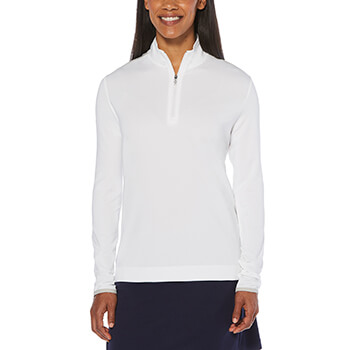 Callaway Golf Women's 1/4 Zip Mock Pullover