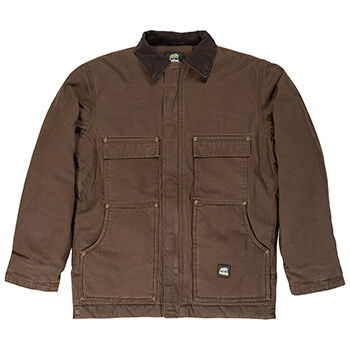 Berne Men's Highland Washed Chore Jacket