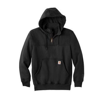 Carhartt Rain Defender Paxton Heavyweight Hooded Zip Mock Sweatshirt