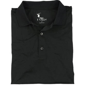 Fairway & Greene Men's Solid Tech Jersey Polo