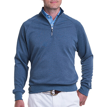 Fairway & Greene Men's Valley 1/4 Zip Pullover