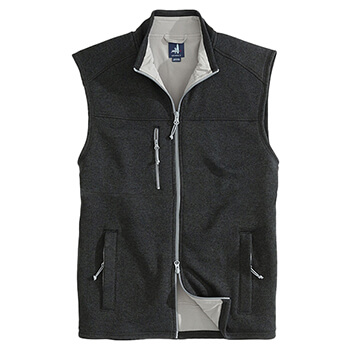 Johnnie-O Men's Wes Full Zip Vest