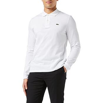 Lacoste Men's Long Sleeve Classic Pique Polo