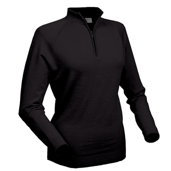 Women's Glenbrae Merino Zip Neck Sweater