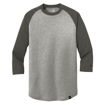 New Era ® Heritage Blend 3/4-Sleeve Baseball Raglan Tee