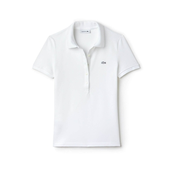 Lacoste Women's Slim Fit Stretch Pique Polo Shirt