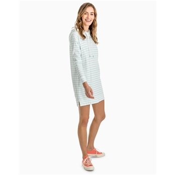 Southern Tide Women's Ocean Front Striped Tunic Hoodie
