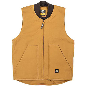 Berne Men's Workman's Duck Vest