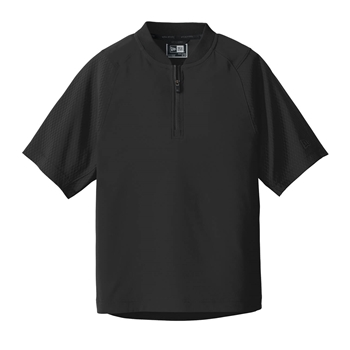 New Era ® Youth Cage Short Sleeve 1/4-Zip Jacket