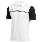 Nike Men's Dri Fit Block Polo - White/Black