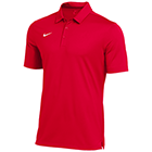 Nike Men's Dry Franchise Polo  - University Red