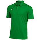 Nike Men's Dry Franchise Polo  - Apple Green