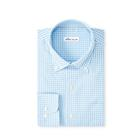 Peter Millar Men's Crown Gingham Woven - Cottage Blue